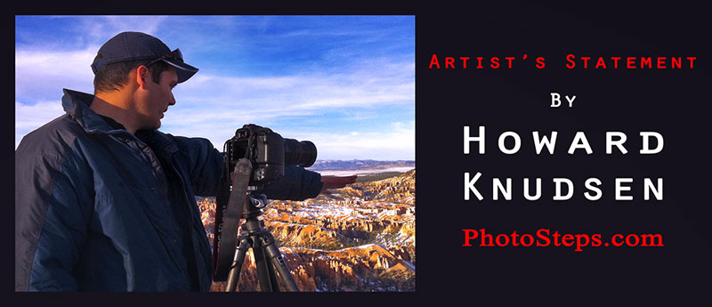 landscape photography artist's statement